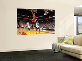 Chicago Bulls v Miami Heat - Game FourMiami, FL - MAY 24: Derrick Rose, LeBron James and Mike Bibby Prints by Mike Ehrmann
