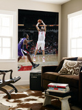 Sacramento Kings v Houston Rockets: Luis Scola and Jason Thompson Poster by Bill Baptist