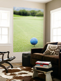 Large Golf Ball Indicates Tee-Off Point Posters by Paul Dymond