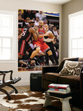 Chicago Bulls v Miami Heat, Miami, FL - March 06: Carlos Boozer and Eric Dampier Prints by Mike Ehrmann
