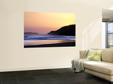 Sunset at Northern End of Beach at Playa Guascate (Popoyo) Near Las Salinas De Nagualapa Prints by Paul Kennedy