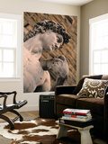 Statue of David, Piazza Della Signoria, Florence, Tuscany, Italy Posters af Walter Bibikow