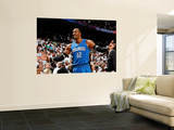 Orlando Magic v Atlanta Hawks - Game Three, Atlanta, GA - APRIL 22: Dwight Howard Prints by Kevin Cox