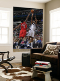 Portland Trail Blazers v Dallas Mavericks: Caron Butler and Wesley Matthews Prints by Danny Bollinger