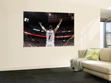 Boston Celtics v Miami Heat - Game Five, Miami, FL - MAY 11: Chris Bosh Print by Mike Ehrmann
