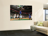 New York Knicks v Boston Celtics - Game One, Boston, MA - April 17: Amar'e Stoudemire and Glen Davi Prints