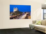 Notre Dame Cathedral and River Seine, Paris, France Print by Jon Arnold