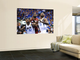 Miami Heat v Dallas Mavericks - Game Four, Dallas, TX -June 7: Joel Anthony, DeShawn Stevenson and  Prints by Garrett Ellwood