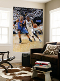 Oklahoma City Thunder v Memphis Grizzlies  - Game Four, Memphis, TN - MAY 9: Mike Conley and Russel Print by Layne Murdoch
