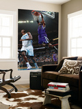 Sacramento Kings v New Orleans Hornets: Jason Thompson and Emeka Okafor Art by Chris Graythen