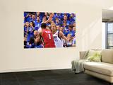 Miami Heat v Dallas Mavericks - Game Four, Dallas, TX -June 7: Dirk Nowitzki and Chris Bosh Posters by Mike Ehrmann