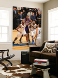 Los Angeles Lakers v Washington Wizards: Andrew Bynum, Hilton Armstrong and Cartier Martin Print by Andrew Bernstein