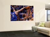 Oklahoma City Thunder v Dallas Mavericks - Game Five, Dallas, TX - MAY 25: Nick Collison and Dirk N Prints by Tom Pennington