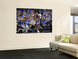 Oklahoma City Thunder v Dallas Mavericks - Game Five, Dallas, TX - MAY 25: Shawn Marion and Kevin D Posters by Glenn James
