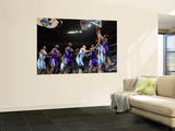 Sacramento Kings v New Orleans Hornets: Beno Udrih and Marco Belinelli Prints by Chris Graythen