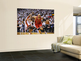 Chicago Bulls v Miami Heat - Game ThreeMiami, FL - MAY 22: Carlos Boozer and Joel Anthony Poster by David Dow