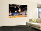 Dallas Mavericks v Miami Heat - Game One, Miami, FL - MAY 31: Dirk Nowitzki and Chris Bosh Prints by Jesse D. Garrabrant