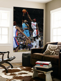 New Orleans Hornets v Detroit Pistons: Ben Wallace and David West Posters by Allen Einstein