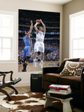 Oklahoma City Thunder v Dallas Mavericks - Game TwoDallas, TX - MAY 19: Dirk Nowitzki and Daequan C Prints by Glenn James
