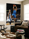 Dallas Mavericks v Denver Nuggets, Denver, CO - February 10: Dirk Nowitzki and Carmelo Anthony Posters by Doug Pensinger