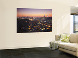 View of Johannesburg Skyline at Sunset, Gauteng, South Africa Prints by Ian Trower