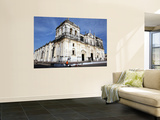 Basilica De La Asuncion Church Facade Prints by Paul Kennedy