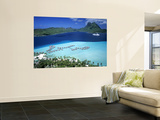 Pearl Beach Resort, Bora Bora, French Polynesia Prints by Walter Bibikow