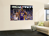 Los Angeles Lakers v Dallas Mavericks - Game Three, Dallas, TX - MAY 6: Kobe Bryant Poster by Ronald Martinez
