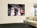 Dallas Mavericks v Miami Heat - Game Two, Miami, FL - JUNE 2: LeBron James and Dwyane Wade Art by Garrett Ellwood