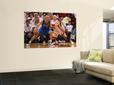 Dallas Mavericks v Miami Heat - Game One, Miami, FL - MAY 31: Jason Kidd and Mike Bibby Posters by Mike Ehrmann