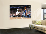 Golden State Warriors v Utah Jazz: Dorell Wright and Paul Millsap Prints by Melissa Majchrzak