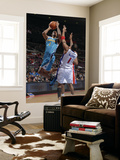 New Orleans Hornets v Detroit Pistons: Trevor Ariza and Tracy McGrady Poster by Allen Einstein
