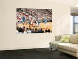Dallas Mavericks v Miami Heat - Game One, Miami, FL - MAY 31: Jose Juan Barea and Chris Bosh Prints by Nathaniel S. Butler