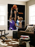 Sacramento Kings v New Orleans Hornets: Tyreke Evans and David West Posters by Chris Graythen