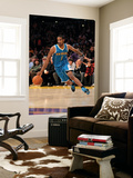 New Orleans Hornets v Los Angeles Lakers, Los Angeles, CA - January 07: Trevor Ariza Print by Stephen Dunn