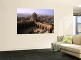 Interior of Mausoleum of Barquq and Cairo Suburbs Prints by Patrick Horton