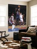 Atlanta Hawks v Detroit Pistons: Josh Smith, Ben Wallace and Charlie Villanueva Art by Allen Einstein