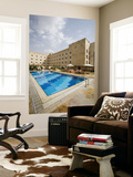 Swimming Pool, Sheraton Aleppo Hotel Posters by Holger Leue