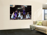 Sacramento Kings v New Orleans Hornets: Carl Landry and Marco Belinelli Prints by Chris Graythen