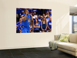 Dallas Mavericks v Oklahoma City Thunder - Game Three, Oklahoma City, OK - MAY 21: DeShawn Stevenso Posters by Ronald Martinez
