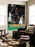 Miami Heat v Boston Celtics - Game Four, Boston, MA - MAY 9: Dwyane Wade and Kevin Garnett Prints by Brian Babineau