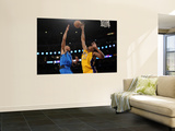 Dallas Mavericks v Los Angeles Lakers - Game One, Los Angeles, CA - MAY 02: Shawn Marion and Andrew Prints by Harry How