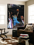 New Orleans Hornets v Detroit Pistons: David West and Jason Maxiell Prints by Allen Einstein