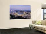 Botafogo and Sugarloaf Mountain from Corcovado, Rio de Janeiro, Brazil Posters by Demetrio Carrasco