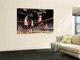Mike Ehrmann - Chicago Bulls v Miami Heat - Game FourMiami, FL - MAY 24: Derrick Rose, Joel Anthony, LeBron James - Poster