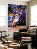 Los Angeles Lakers v Dallas Mavericks - Game Three, Dallas, TX - MAY 6: Jason Terry and Lamar Odom Prints by Andrew Bernstein