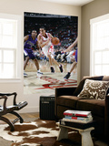 Sacramento Kings v Houston Rockets: Kevin Martin and Luther Head Prints by Bill Baptist