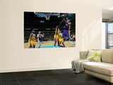 Los Angeles Lakers v New Orleans Hornets - Game Three, New Orleans, LA - APRIL 22: Kobe Bryant and  Art by Layne Murdoch