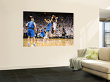 Dallas Mavericks v Miami Heat - Game Two, Miami, FL - JUNE 2: Dwyane Wade and Dirk Nowitzki Posters by Garrett Ellwood