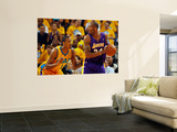 Los Angeles Lakers v New Orleans Hornets - Game Three, New Orleans, LA - APRIL 22: Kobe Bryant and  Art by Chris Graythen